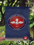 Apedes US Marine Corps Aviation Ordnance USMC Double Sided Garden Flag 12×19 Inches Review