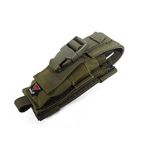 YAKEDA Carry All Folding Knife Belt Sheath Nylon Sheath Dual Carry/Molle Strap Knife Bag--C88044-1