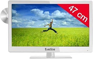 Ever Line LED de televisor con Reproductor de DVD 19EVE2 C48HC ...