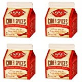 Aspen Mulling Cider Spice - Original Spice Blend - 5.65 oz Carton - Set of 4