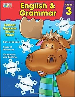 English grammar book of class 3