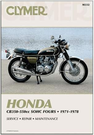 Clymer 75-77 Honda CB550F Service Manual
