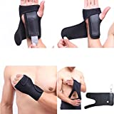 Zinnor Wrist Brace Compression Strap Adjustable Support One Size