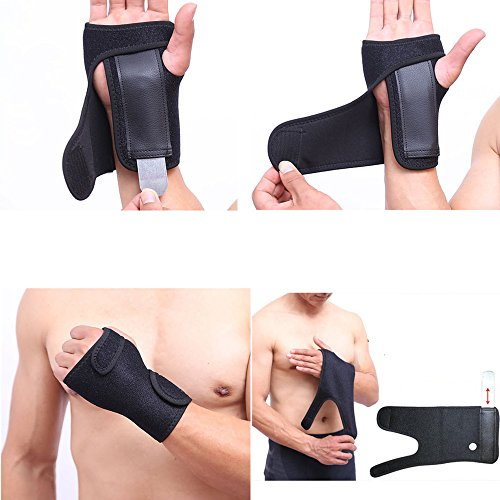 Zinnor Wrist Brace Compression Strap Adjustable Support One Size by Zinnor