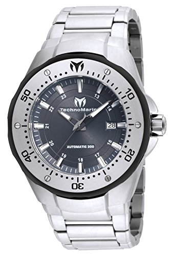 Technomarine Men's 'Manta' Automatic Stainless Steel Casual Watch, Color:Silver-Toned (Model: