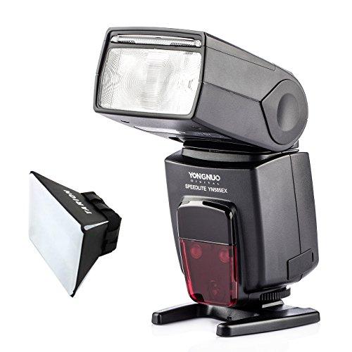 YONGNUO YN 585EX-P スピードライト ストロボ フラッシュ TTL PENTAX K5 K50 K-1 K3 K30 デジタル 一眼レフカメラ対応 フラッシュディフューザー付き