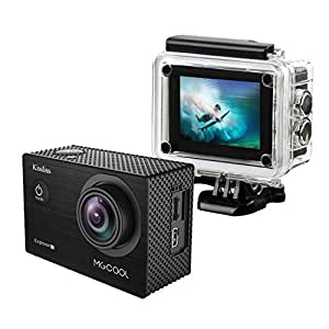 MGcool Explorer-1S 4K Action Camera by Kissliss, 100ft Underwater Waterpoof Sports Camera Wifi 20MP Ultra HD Wide Lens Angle in 170°Camcorder Great for Indoor and Outdoor Activities