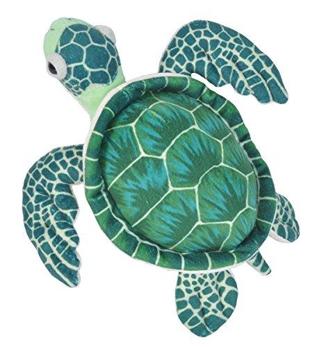 Wild Republic Sea Turtle Plush Stuffed Animal Toy, Gifts Kids, Cuddlekins, Green, 12 - Sea Ride World