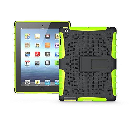 Redneck Coque pour Apple iPhone Tetron - Ultra-résistant - Vert Apple iPad 2/3/4 Green