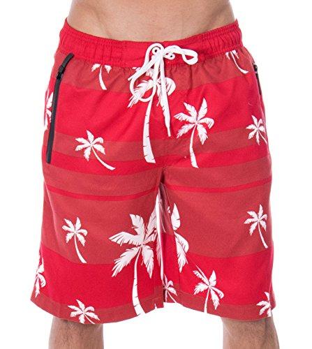 Swim Trunks Mesh Lining Beachwear Board Shorts