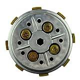 ETbotu Complete Clutch Setup Drum Assy Basket Kit Powersports Transmissions for Motorbike Motorcycle YAMAHA YBR125 YBR 125 2002-2013