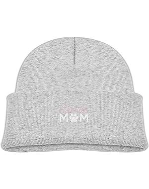 Fashion Doodle Mom Printed Newborn Baby Winter Hat Beanie