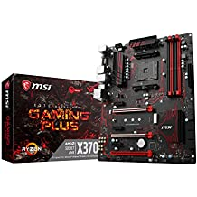 MSI Gaming AMD Ryzen X370 DDR4 VR Ready HDMI USB 3 SLI CFX ATX Motherboard (X370 GAMING PLUS)