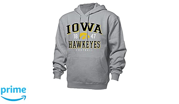 Amazon.com : NCAA University of Iowa Benchmark Hood, 2X, Oxford : Sports & Outdoors