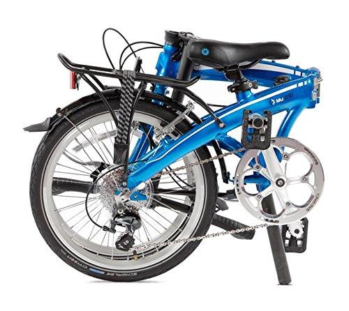 Dahon Mu D10 bicicleta plegable para adulto, Dusty Blue, talla 20: Amazon.es: Deportes y aire libre