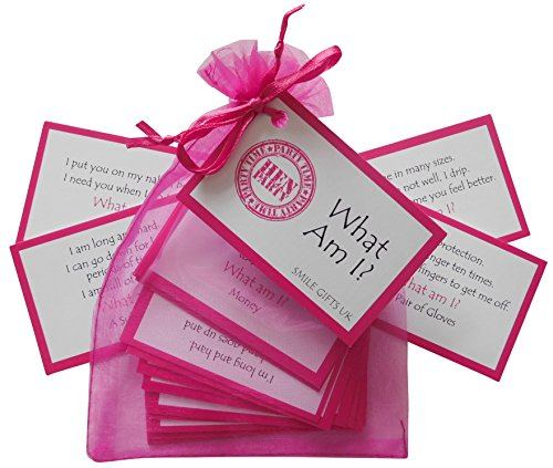SMILE GIFTS UK Hen Party Game Pack of 4 Hen Night Games- Hen