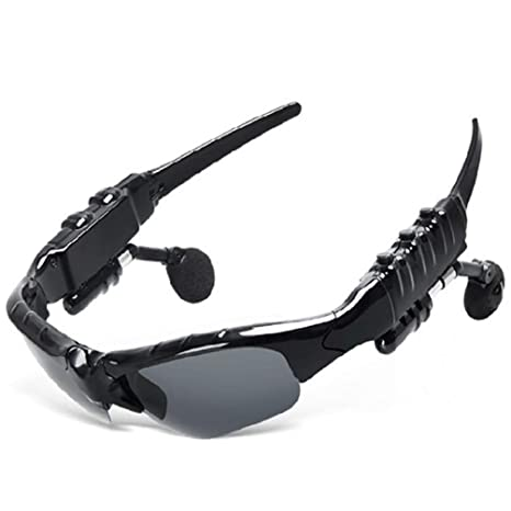 Amazon.com: YWYU Smart Bluetooth polarizado gafas de sol ...