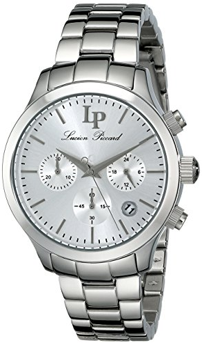 Lucien Piccard Women's LP-12914-22S Analog Display Japanese Quartz Silver Watch