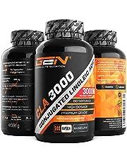 CLA - 240 capsules met elk 1000 mg - hoge dosis met 3000 mg per dagsport - laboratoriumgetest - geconjugeerd linolzuur vetzuur - premium kwaliteit