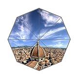 Santa Maria Del Fiore in Florence Italy Art Custom Unique Durable Custom Foldable Umbrella