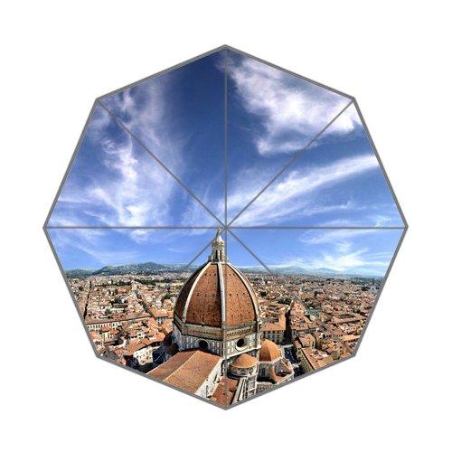 Santa Maria Del Fiore in Florence Italy Art Custom Unique Durable Custom Foldable Umbrella by CustomLittleHome
