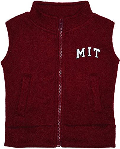 Creative Knitwear Massachusetts Institute of Technology MIT Baby and Toddler Polar Fleece Vest Maroon