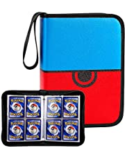 TCG Card Holder Binder Album, 320 Pockets Trading Card Collector Storage Sleeves Folder Compatible with PM Cards Game/Baseball Card/M.T.G/C.A.H./ Football/Sport Cards and More