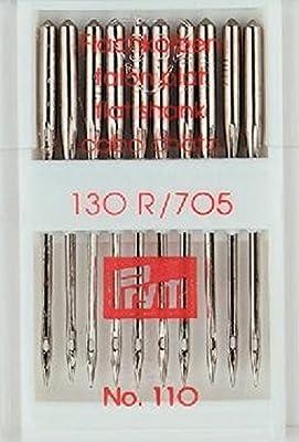 Agujas para máquina de coser 18 estándar 130/705/110: Amazon.es: Hogar