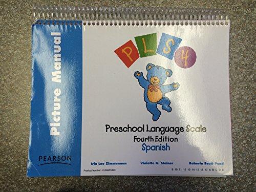 Preschool Language Scale: Picture Manual, Spanish (Spanish Edition)