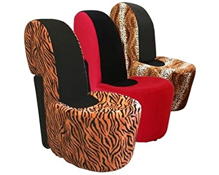Stiletto Shoe Chair / Novelty Chairs / FU145 [FU145] Red