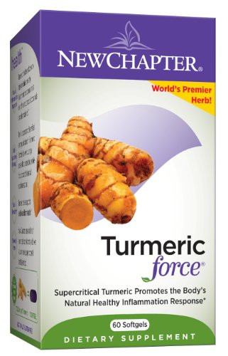 New Chapter Turmericforce, 60 gélules