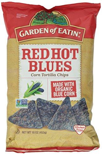 d Hot Blues Spicy All Natural Tortilla Chips, 16 oz ()