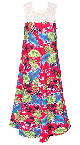 Smukke, Big Girls Beautiful Dresses (with Options), 7-16 (Red Tropical, 14)