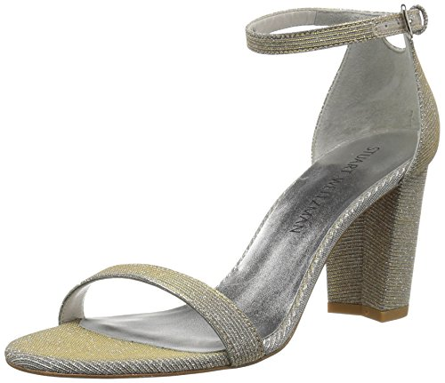 Stuart Weitzman Women's Nearlynude, Magnesium, 7.5 Medium US