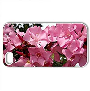 Beauty In Bloom - Case Cover for iPhone 4 and 4s (Flowers Series, Watercolor style, White)