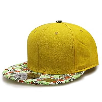 City Hunter Cf2090 Wild Flower Snapback Caps - 4 Colors