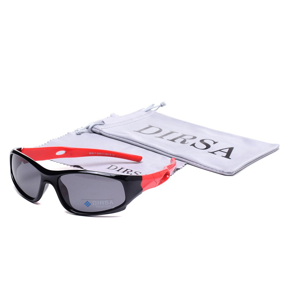 Sports Style Polarized Sunglasses Rubber Flexible Frame UV400 For Boys Girls