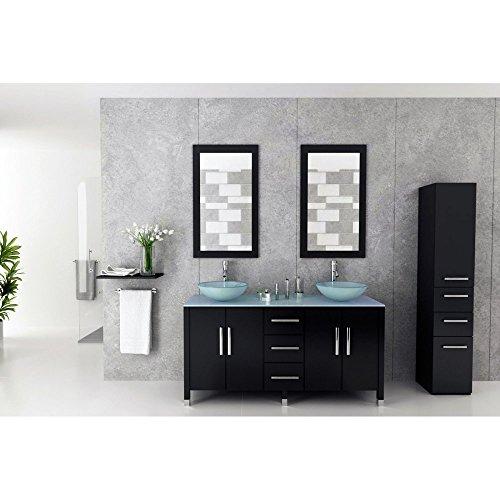 JWH Living Sirius Double Bathroom Vanity