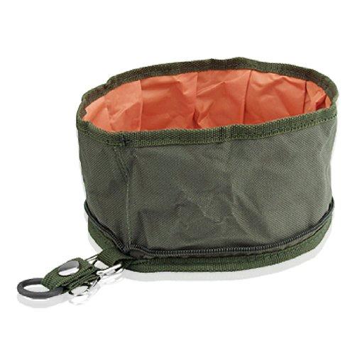 Jardin Dog Pet Collapsible Fabric Travel Food Water Bowl Collapsible Nylon Dog