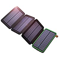 X-DRAGON Solar Charger with Foldable Sol...