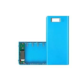 TriLance Solderless 8 Sección 18650 Caja de batería, DIY USB ...