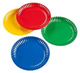 Melamine Colorful Reusable Picnic Plate (Set of 4)