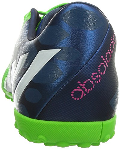 Adidas Predator Absolado Instinct TF Fussballschuhe rich blue-running white-solar green - 44