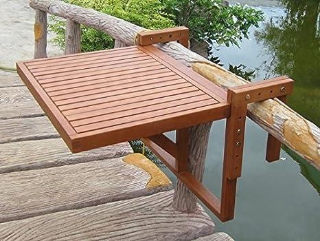 Mesa colgante para balcón, mesa plegable para el balcón ...