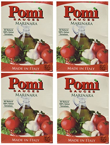 Pomi USA Inc Sauce, Marinara, 26.46-Ounce (Pack of 4)