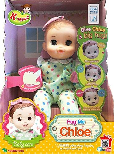 Amazon Com English Package Kongsuni Series Hug Me Chloe Doll Hug Me
