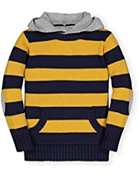 Boys' Hooded Pullover Sweater