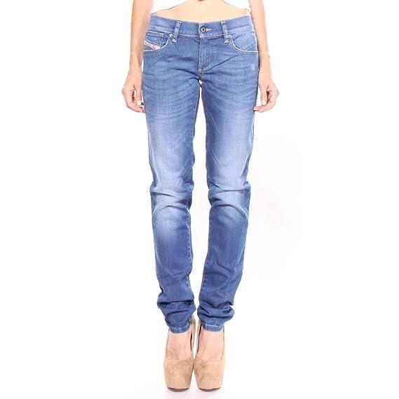 6990211b0d8bbb Diesel Getlegg 0R610 Damen Jeans Hose Slim Skinny: Amazon.de: Bekleidung