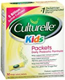 Culturelle Kids Packets Daily Probiotic Supplement 30 Each (Pack of 3)