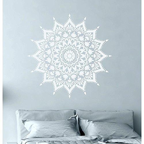 Mandala Stencil Radiance - Trendy Easy Beautiful DIY Wall Stencil Designs - Reusable Stencils for DIY Home Decor - By Cutting Edge Stencils (44'') by Cutting Edge Stencils (Image #4)
